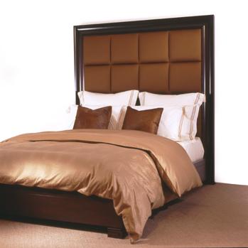 Paneled Queen Bed