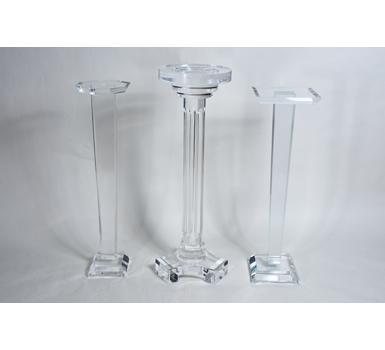 round / square / petite pedestals