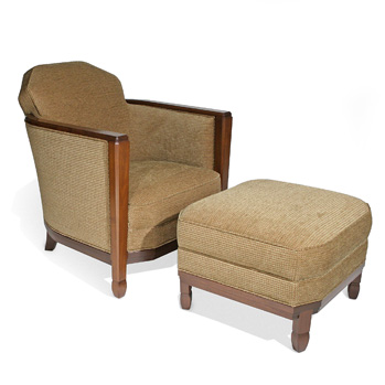 chelsea club chair and ottoman