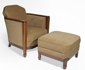 Chelsea Club Chair & Ottoman