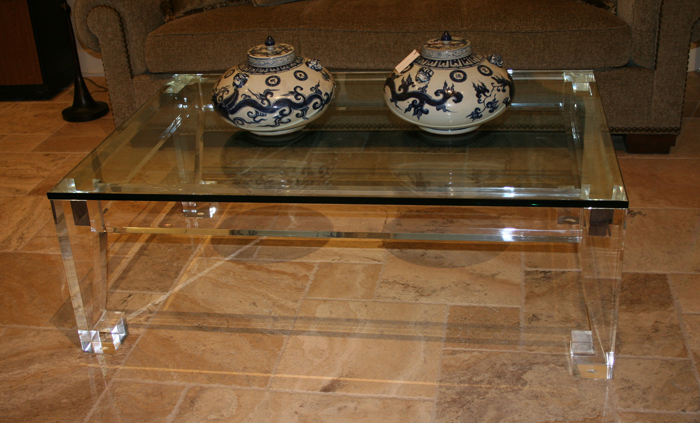 Custom Acrylic Coffee Table