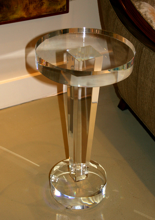 Tower Acrylic Side Table